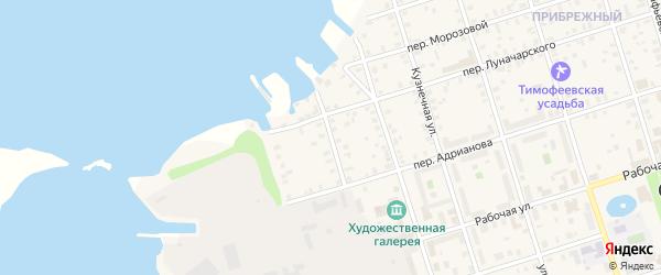 Улица Пакальная Мыза на карте Осташкова с номерами домов