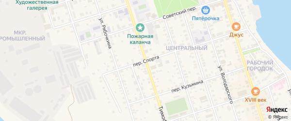Тимофеевская улица на карте Осташкова с номерами домов