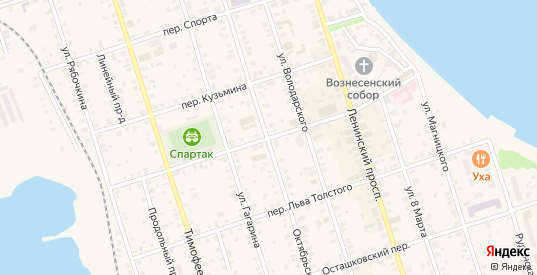 Переулок Панфилова в Осташкове с номерами домов на карте. Спутник и схема онлайн