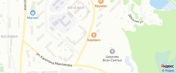 Скальная улица на карте Мурманска с номерами домов