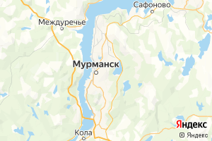 Карта г. Мурманск Мурманская область