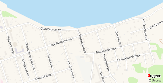 Улица Желватикова в Осташкове с номерами домов на карте. Спутник и схема онлайн