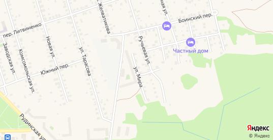 Улица Мира в Осташкове с номерами домов на карте. Спутник и схема онлайн