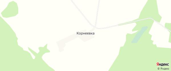 Карта деревни Корнеевки в Смоленской области с улицами и номерами домов