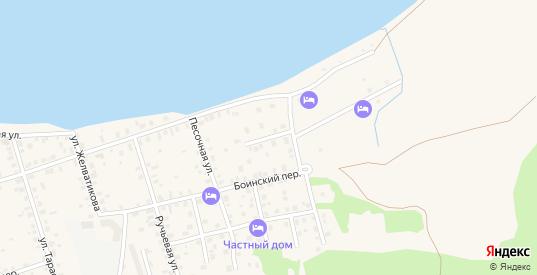 Луговой переулок в Осташкове с номерами домов на карте. Спутник и схема онлайн