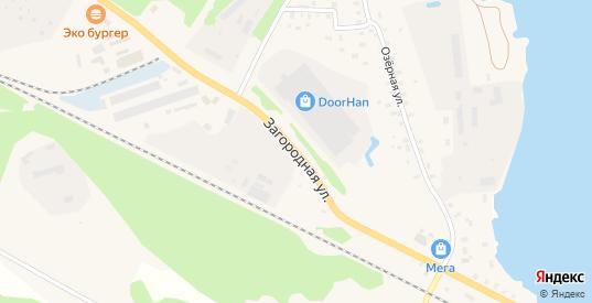 Загородная улица в Осташкове с номерами домов на карте. Спутник и схема онлайн