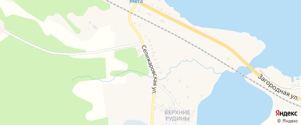 Селижаровская улица на карте Осташкова с номерами домов