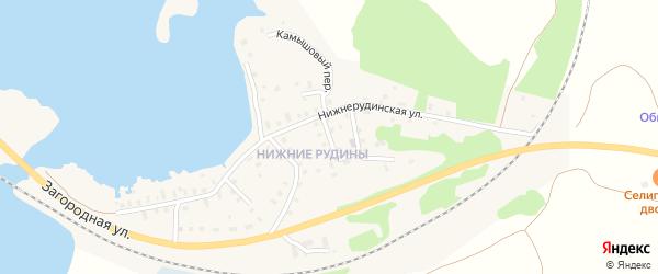 3-й Лучевой переулок на карте Осташкова с номерами домов