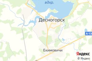 Карта г. Десногорск Смоленская область