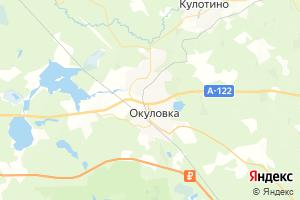 Карта г. Окуловка Новгородская область