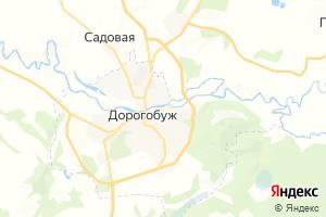 Карта г. Дорогобуж Смоленская область