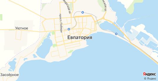 Карта Евпатории с улицами и домами подробная. Показать со спутника номера домов онлайн
