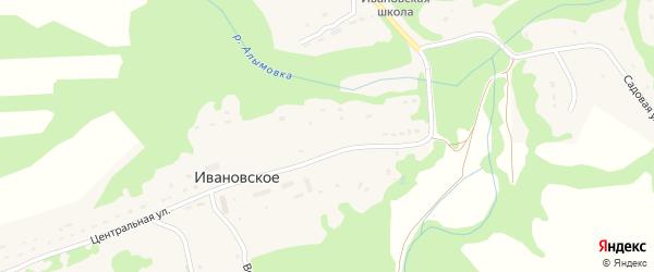 Лесная улица на карте деревни Ивановское (Астапковичское с/пос) Смоленской области с номерами домов
