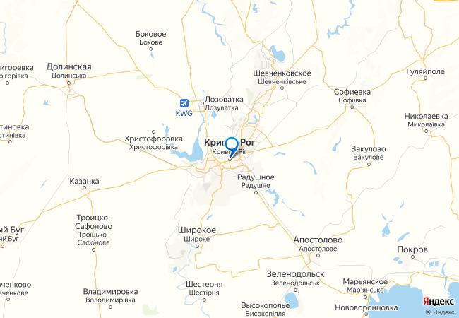 Krivoj Rog Na Karte Panorame Ukrainy S Ulicami I Domami Podrobno Otzyvy Foto Video