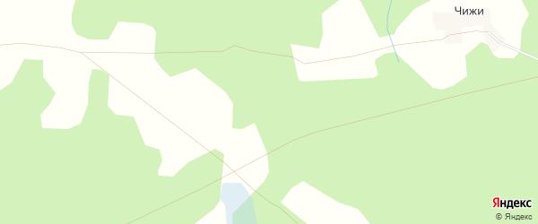 Карта деревни Маревки в Тверской области с улицами и номерами домов