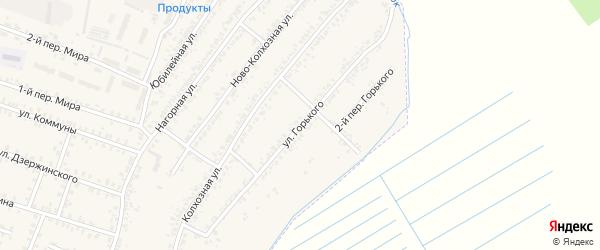 Улица Горького на карте Почепа с номерами домов