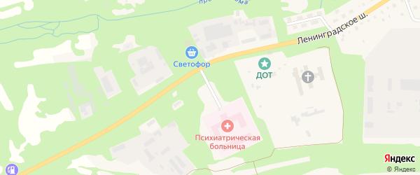 Свирский заезд на карте Лодейного Поля с номерами домов