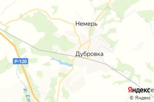 Карта пос. Дубровка Брянская область