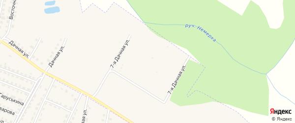 Территория Красный Якорь индивидуальное садоводство на карте поселка Дубровки с номерами домов