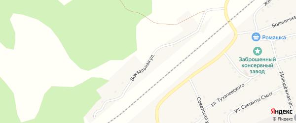 Вокзальная улица на карте поселка Гобики Брянской области с номерами домов