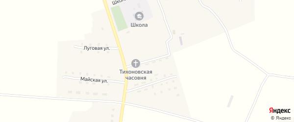Садовая улица на карте поселка Гобики с номерами домов