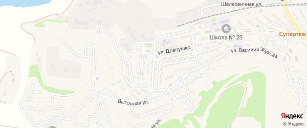 Улица Ситникова Петра на карте Севастополя с номерами домов