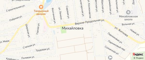 Территория 12-я станция Химик-2 на карте села Михайловки Крыма с номерами домов
