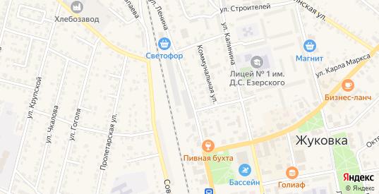 Улица Ленина в Жуковке с номерами домов на карте. Спутник и схема онлайн