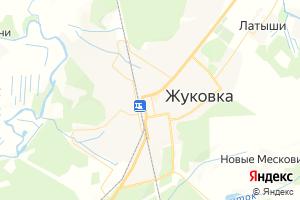 Карта г. Жуковка Брянская область