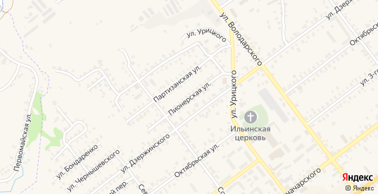 Пионерская улица в Трубчевске с номерами домов на карте. Спутник и схема онлайн