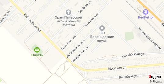 Улица Спендиарова в Красноперекопске с номерами домов на карте. Спутник и схема онлайн