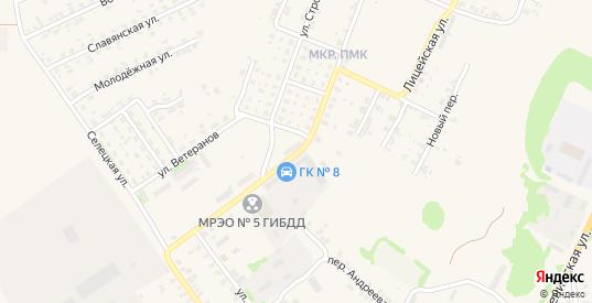 Новая улица в Трубчевске с номерами домов на карте. Спутник и схема онлайн