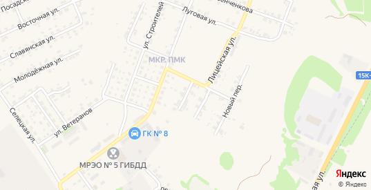 Улица 50 лет Победы в Трубчевске с номерами домов на карте. Спутник и схема онлайн