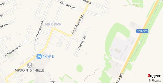 Новый переулок в Трубчевске с номерами домов на карте. Спутник и схема онлайн