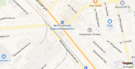 Дальний тупик в Красноперекопске с номерами домов на карте. Спутник и схема онлайн