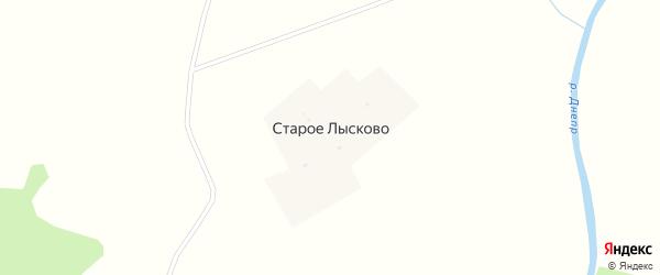 Полевая улица на карте деревни Старое Лысково Смоленской области с номерами домов