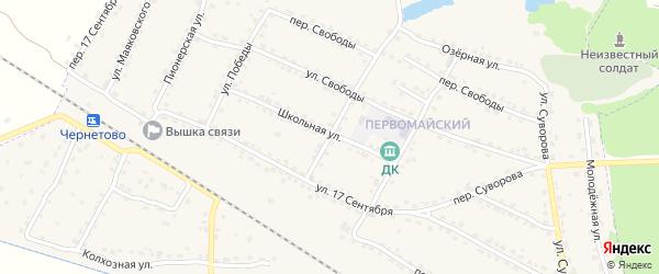 Улица Мира на карте Сельца с номерами домов