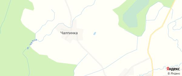 Карта деревни Водоси в Новгородской области с улицами и номерами домов