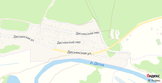 Деснянский переулок в Сельце с номерами домов на карте. Спутник и схема онлайн