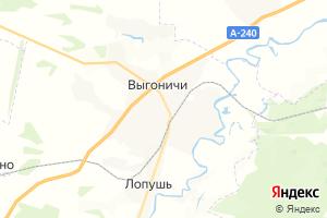 Карта пос. Выгоничи Брянская область