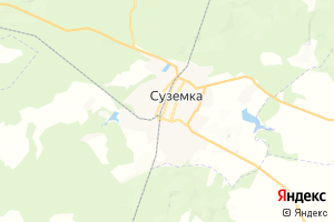 Карта пгт Суземка Брянская область