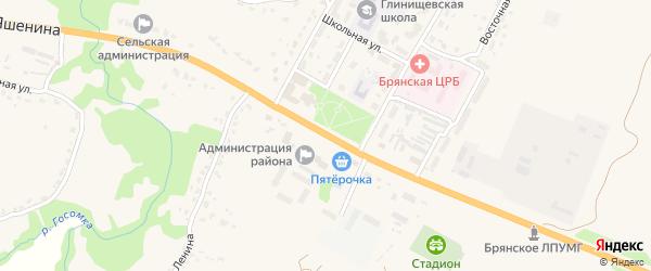 Территория Паи Домашовское на карте территории Домашовского сельского поселения с номерами домов