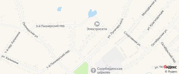 Улица Королева на карте поселка Стари Брянской области с номерами домов