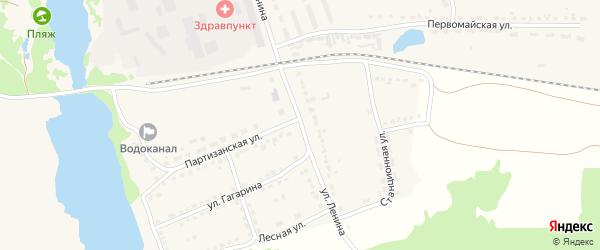 Улица Ленина на карте поселка Стари Брянской области с номерами домов
