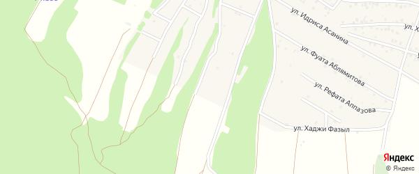 Улица Хаджи Фазыл на карте Пионерского села Крыма с номерами домов
