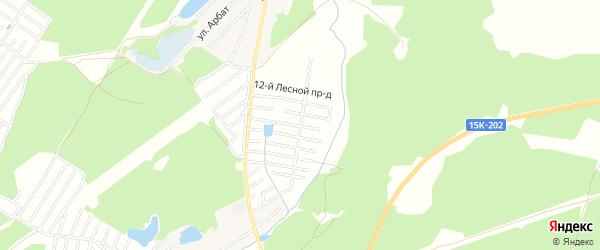 ГСК Лесная сказка на карте поселка Сети с номерами домов