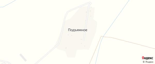 Вазузская улица на карте деревни Подъямного Смоленской области с номерами домов