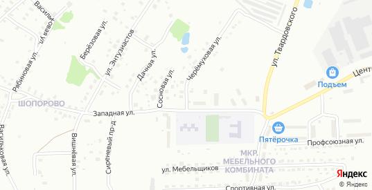 Черемуховая улица в Ржеве с номерами домов на карте. Спутник и схема онлайн