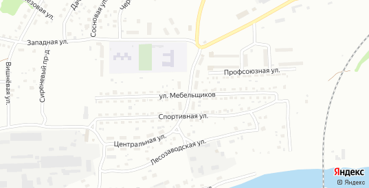 Улица Мебельщиков в Ржеве с номерами домов на карте. Спутник и схема онлайн