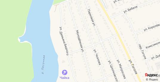 Молодежная улица в Кирове с номерами домов на карте. Спутник и схема онлайн